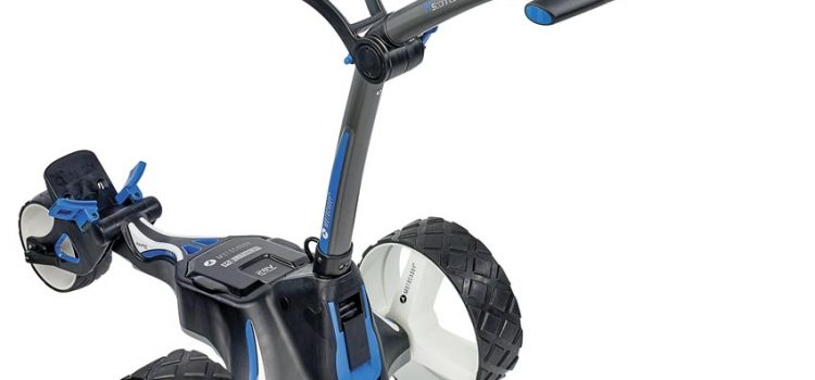 We tried it: New Motocaddy M5 Connect DHC electric buggy
