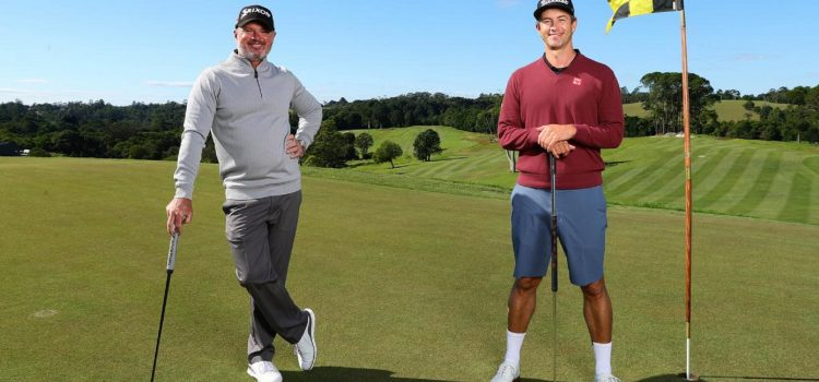 "Adam Scott showcases Sunshine Coast's Maleny Golf Club with live Instagram feed of ""Nine Holes with a Mate"""
