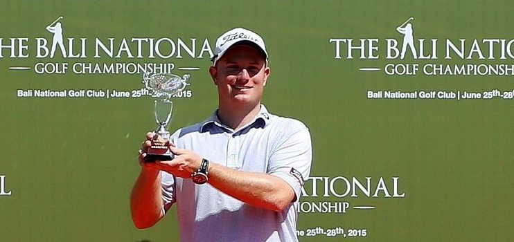 Giles captures Bali National Golf Championship