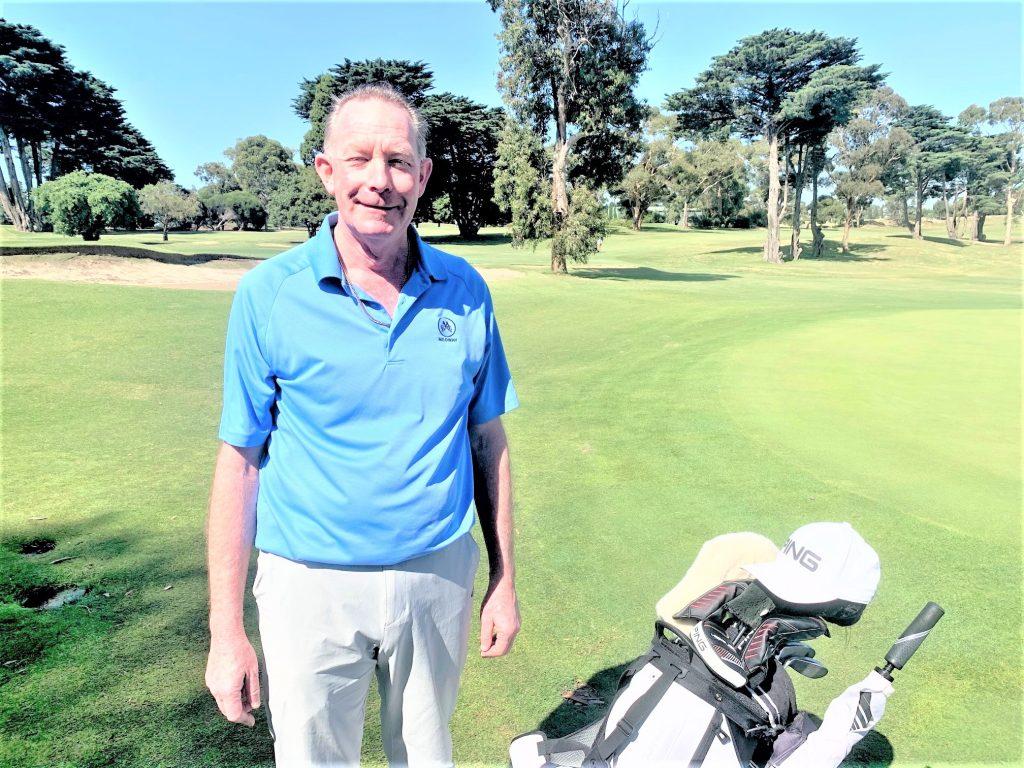 "Medway Golf Club head pro John ""Dicko"" Dixon."
