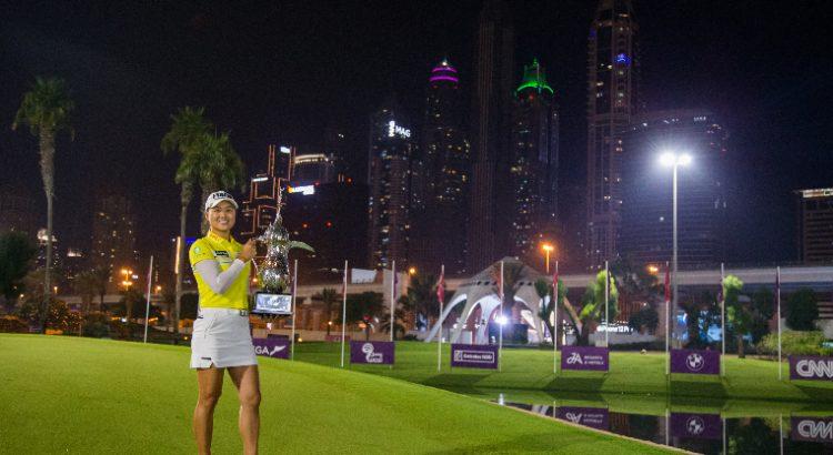 Minjee Lee captures Omega Dubai Moonlight Classic