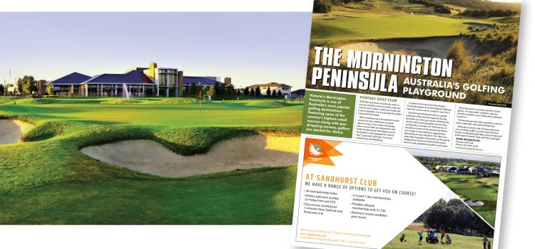 The Mornington Peninsula – Australia's golfing playground