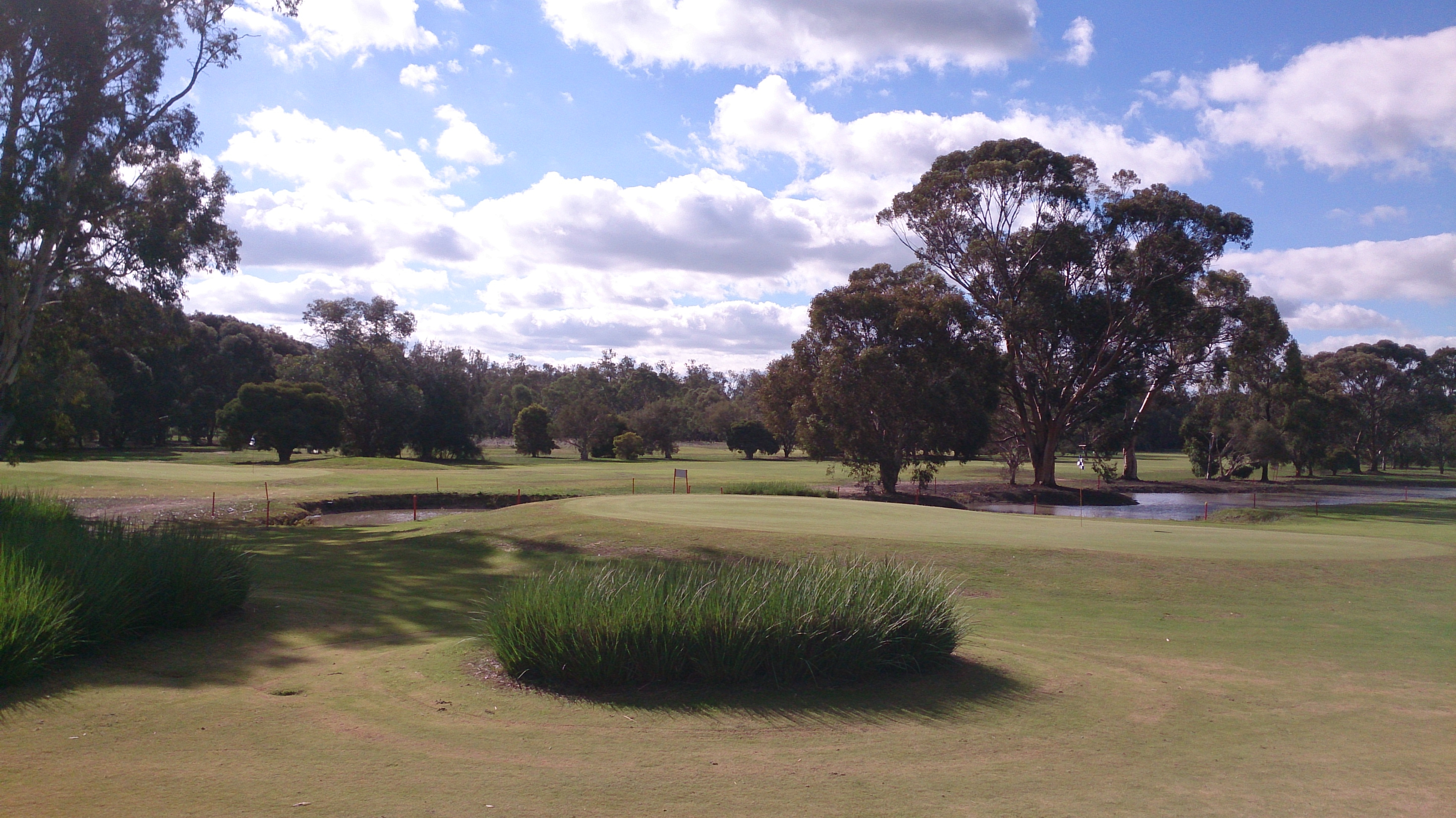 Numurkah6 and 9 greens