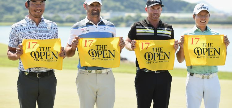 Hendry, Bland qualify for The Open