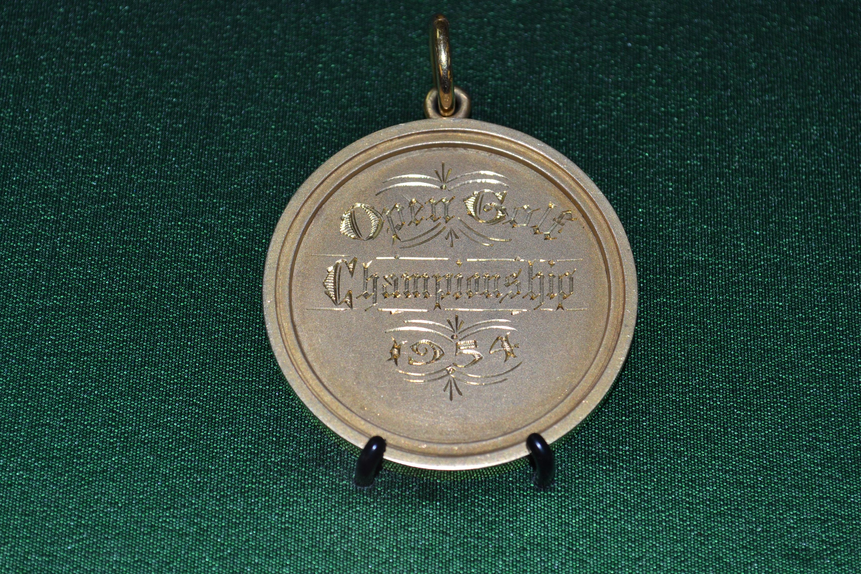Open Golf Championship Medal 1954