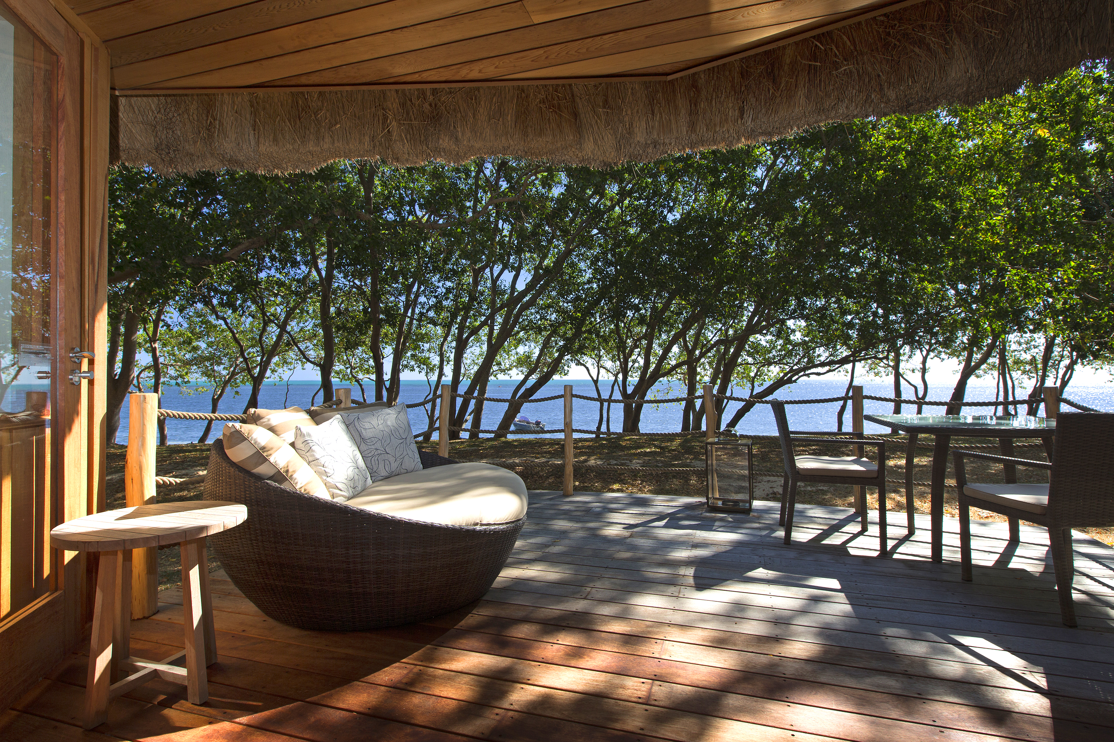 SHED – BEACHFRONT BUNGALOW TERRACE AND VIEW (2)