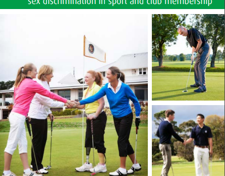 New golf guide highlights clubs' legal duty to be inclusive