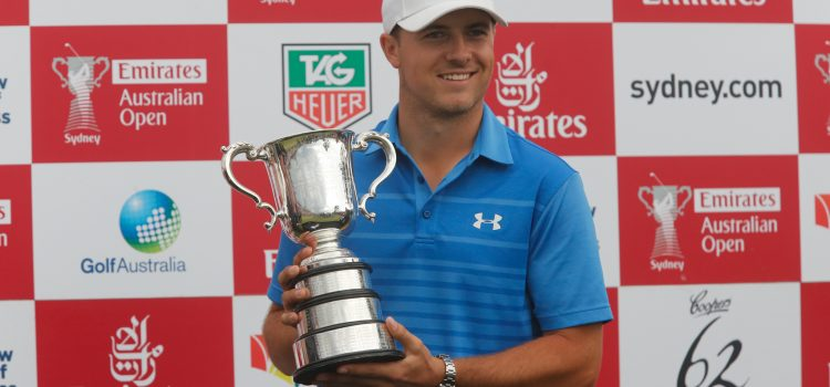 Spieth confirmed for Emirates Australia Open