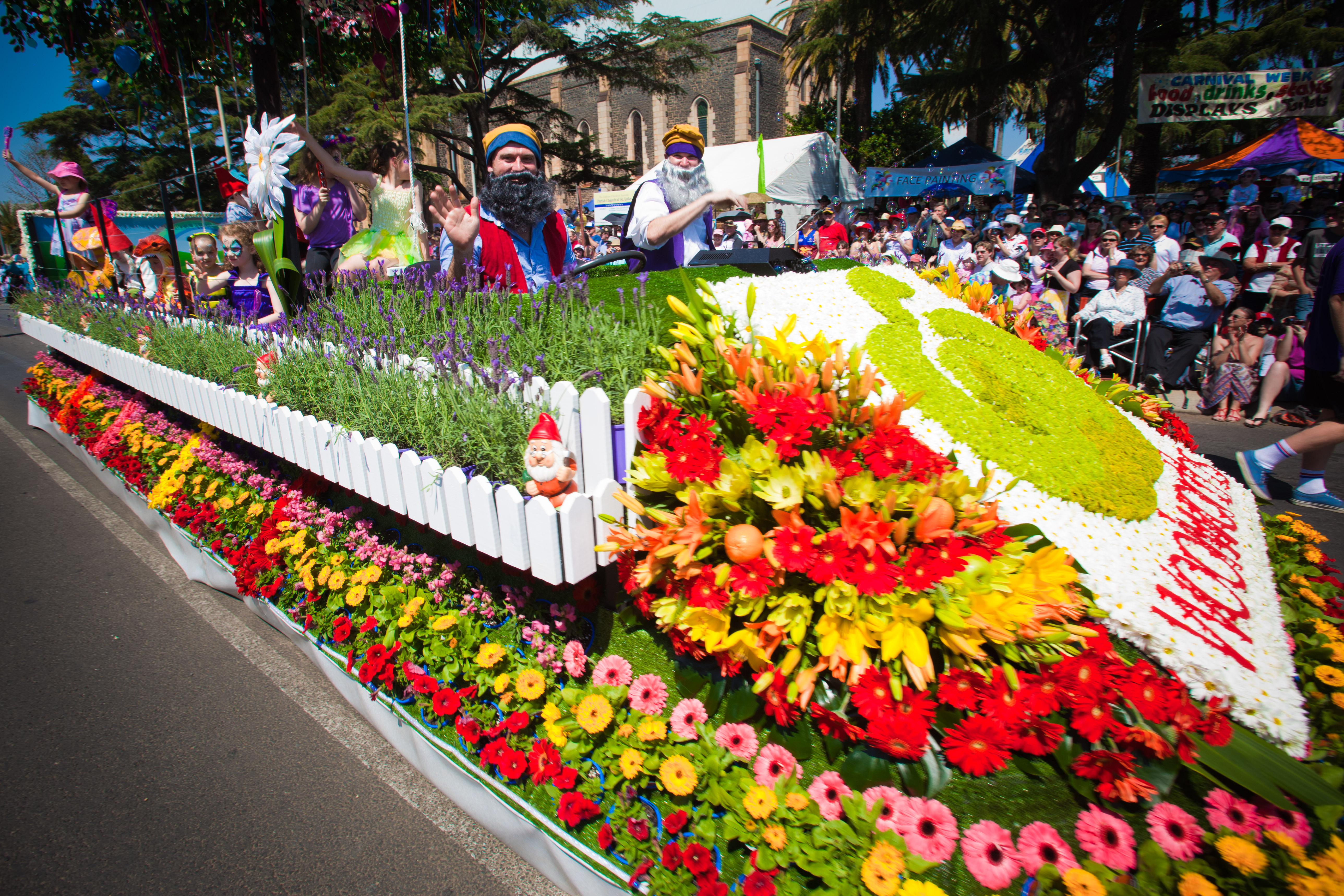 2011 Toowoomba Carnival of Flowers.