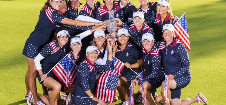 USA storms from behind to nab Solheim Cup