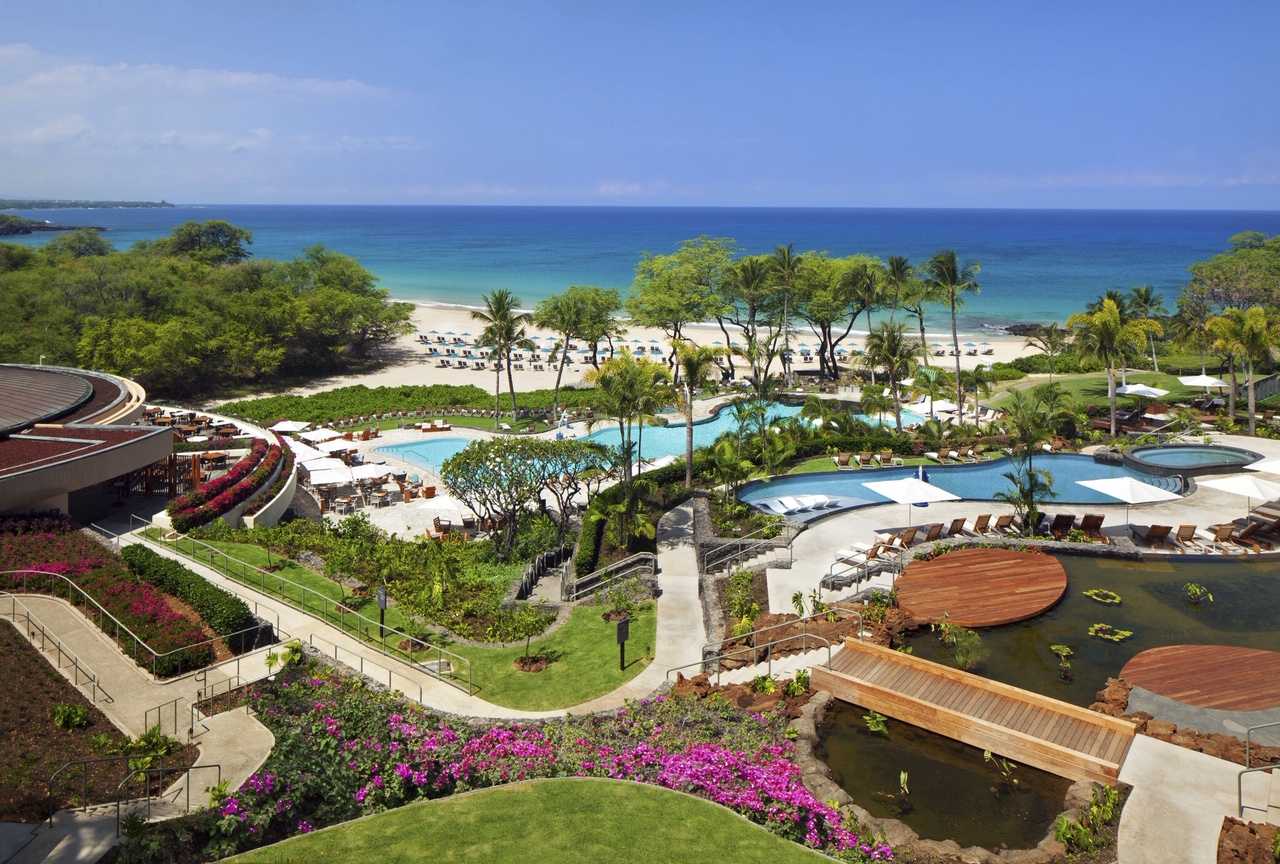 Westin Hapuna Beach Resort Pool Beach View