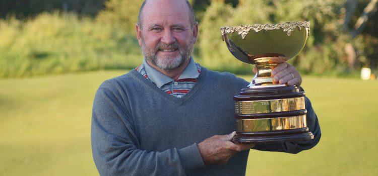 Olsen battles the course, personal demons, in Senior Amateur victory