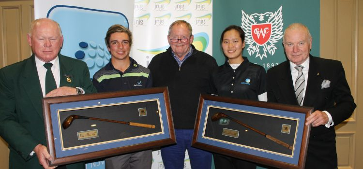 Micheluzzi and Shin crowned NSW Junior Champions