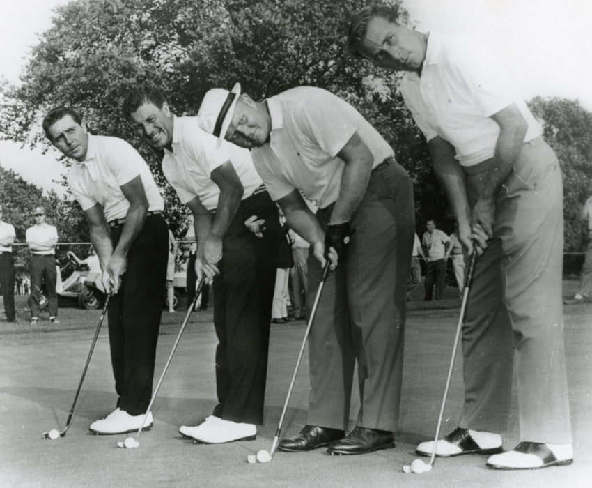 World Series of Golf Group player, thomson nicklaus and david marr