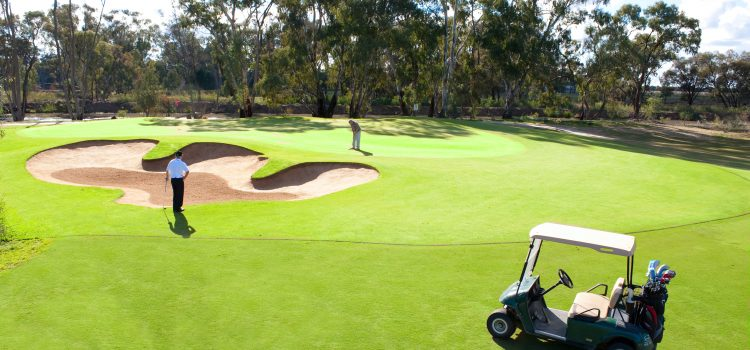 Golf on the Murray: Barham