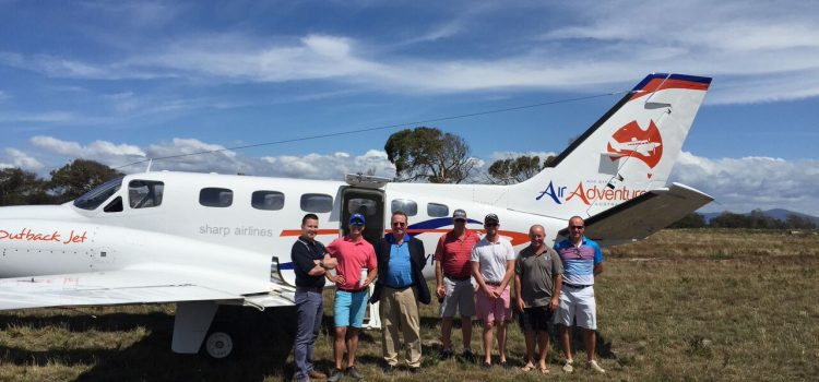 Rock Star treatment: Fly to King Island and Barnbougle in style